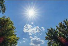 Photo of Moti me diell dhe vranësira mesatare