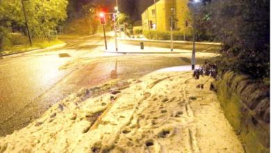 Photo of Bie borë në Britani, nata më e ftohtë e shtatorit në 23 vjet (FOTO)