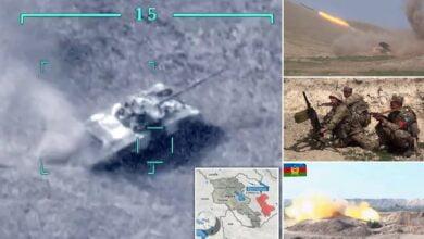 Photo of Vazhdojnë luftimet mes Azerbajxhanit dhe Armenisë, raportohet për disa të vdekur