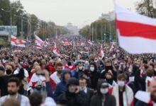 Photo of Bjellorusi, qindra të arrestuar në protestat kundër regjimit të Lukashenkës