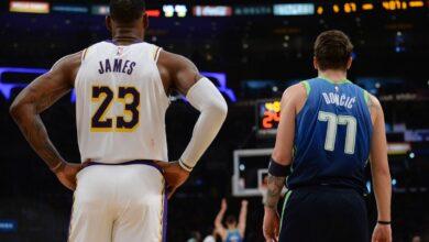 """Photo of Donçiç në ekipin e sezonit, Xhejms """"mbret"""" i NBA-s"""