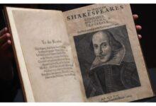 Photo of Shitet për 10 milionë dollarë kopja e rrallë e botimit të parë të Shekspirit